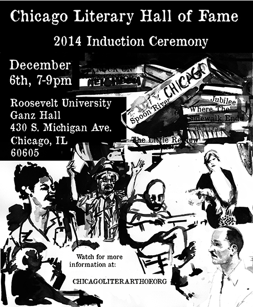 Chicago Literary Hall of Fame 2014, Induction Ceremony