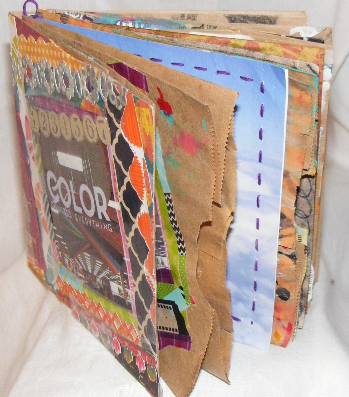 """Paper Bag Book """"Color"""""""